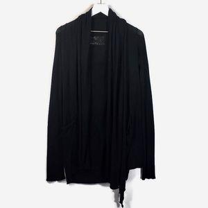 All Saints draped open cardigan